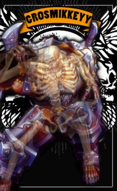 Test Armor / skull, gif animated, click for see original