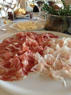 Repeat after me, there's no such thing as too much prosciutto