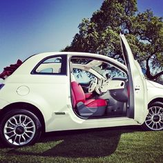 Are you ready to get in and catch the wind in your hair? #Fiat500C