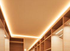 Closet iluminado