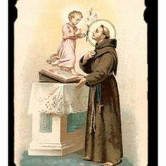 Saint Anthony. One of my favorite saints