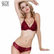 2018 NEW ABCD France brand lace bra   brief sets push up bra set for women  underwear set brassiere transparent lingerie-in Bra   Brief Sets from  Women s ... 3d63ff64d