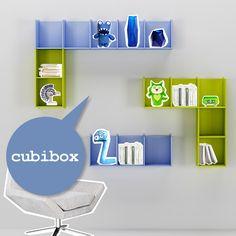 #Cubibox laccati in cristallo e verde cedro. Catalogo complementi. www.moretticompact.com