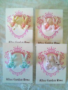 Alice Garden Rose Alice, Rose, Garden, Earrings, Accessories, Home Decor, Homemade Home Decor, Pink, Roses