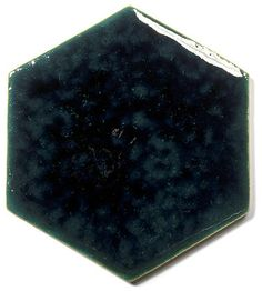 Blue Ceramic Handmade Wall & Floor Tile - Hexagon, glaze - Venus Grune
