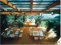 """Renzo Piano Building Workshop Headquarters in Genoa, Italy - Renzo Piano Building Workshop """"Perched on the slopes of a hill above the sea, Punta Nave houses the Genoa headquarters of the Renzo Piano. Renzo Piano, Studios Architecture, Interior Architecture, Workshop Architecture, Workshop Studio, Arch Interior, Interior Design, Famous Architects, House In The Woods"""