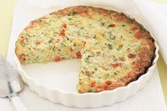 All-in-one Quiche Recipe - Taste.com.au