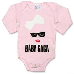 Baby Gaga Pink One-Piece by PsychoBaby