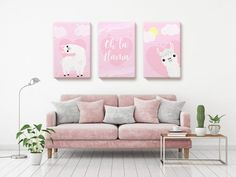 """This listing offers set of 3 Canvas Wall Art. When you purchase one of the size, it will come as three items in the size you choose.All of our products are printed and shipped in the USA!Dreamtees offers made-to-order, high-quality canvases in different sizes. All wall art decorative canvases are printed, hand stretched and made in the USA by professionals.All of our canvas prints are already stretched on 0.75"""" thick wooden frames and READY TO HANG in the size option you prefer. 24"""" x 36"""" and 32 Living Room Decor, Bedroom Decor, Canvas Wall Art, Canvas Prints, Christmas Wall Art, Inspirational Wall Art, All Wall, Kids Decor, Nursery Wall Art"""