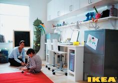 Child's room for a student