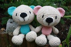 Galna i Garn: ♥ Kramgoa björnar ♥