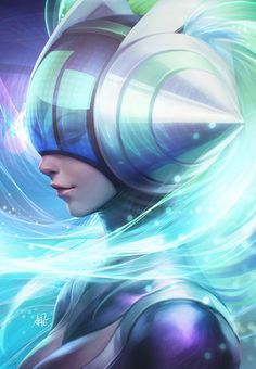 Many fans ask me for DJ Sona art. So here it is. The stream video can be found on my Livestream Channel.