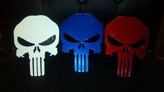 Custom Metal Punisher Skull Trailer Hitch Cover on Etsy, $45.00