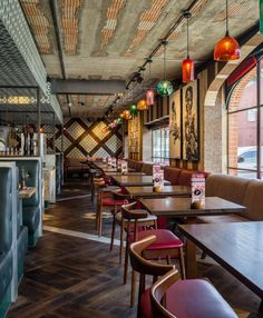 RESTAURANT | Nando's Headingley by Moreno:Masey Architecture and Interiors…