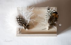 Super classy Pomp and Plumage feather corsages. Mhari Scott | Seattle and Portland Wedding Photographer