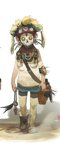 Concept Character. Sergi Brosa's design for 'Children from the Wasteland'
