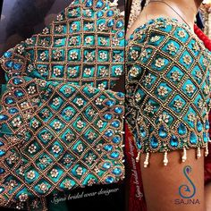 Never Seen Before Heavy Work Silk Saree Blouses are Here Cutwork Blouse Designs, Half Saree Designs, Pattu Saree Blouse Designs, Simple Blouse Designs, Stylish Blouse Design, Bridal Blouse Designs, Blouse Patterns, Blouse Designs Catalogue, Hand Work Blouse Design