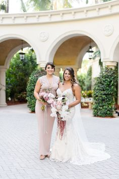 Real bride in Marisa wedding dress from Solutions Bridal in Orlando, Florida