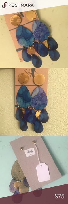NWT! Anthropologie earrings Never worn. Anthropologie earrings Anthropologie Jewelry Earrings