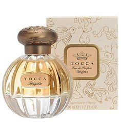$68 Tocca - Brigitte edp 1.7 oz Head: Ginger, Rhubarb, Papaya Heart: Moroccan Rose, Iris, Saffron Base: Sandalwood, Musk, Panettone Accord