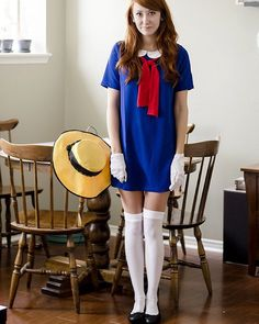 last years crazy last minute Madeline costume, that ended up being the one of my best Halloween costumes yet! Thanks Leslie Fernandes for featuring it and? Best Diy Halloween Costumes, Clever Costumes, Hallowen Costume, Couple Halloween, Halloween Cosplay, Diy Costumes, Cosplay Costumes, Halloween Party, Halloween Makeup