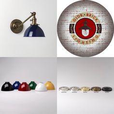 Apartment Lighting, Wall Sconces, Globe, Brick, Speech Balloon, Bricks