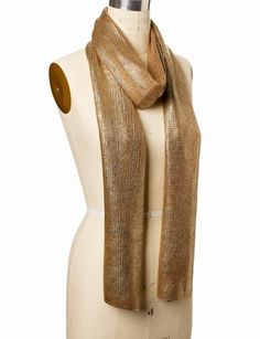 Foil Sweater Scarf from THELIMITED.com
