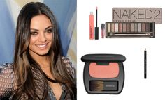 Mila is soooo beautiful and I LOVE her makeup. I'm going to steal this look for sure!