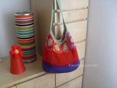 ElenaRegina wool: Sacca mare supercolorata