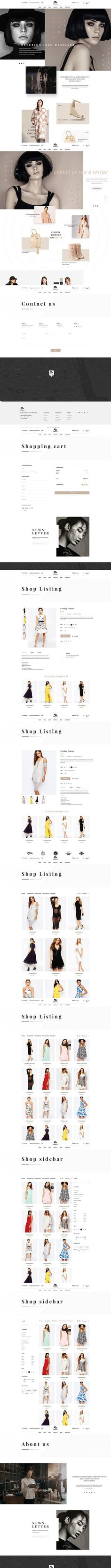 Mercy - Stunning eCommerce PSD. Website Templates