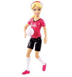 Мини-Кукла Barbie ( Кукла Барби ) Кем быть? Футболистка   Barbie.Ru   Барби в России