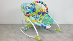 BRIGHT STARTS BABYWIPPE TEST: BABYWIPPE MIT VIBRATION BIS 18 KG Baby Car Seats, Bright, Colorful Animals, Infant Car Seats