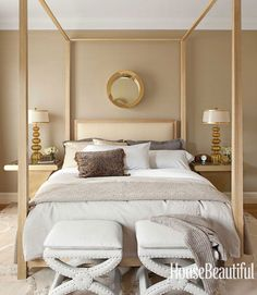 Masculine Bedroom Bedroom Decorating Ideas - Pictures of Bedroom Design Ideas - House Beautiful Beautiful Bedroom Designs, Beautiful Bedrooms, House Beautiful, Beautiful Homes, Home Bedroom, Bedroom Decor, Bedroom Ideas, Bedroom Mirrors, Master Bedrooms