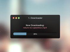 Downloader / #ui