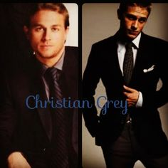 Charlie Hunnam as Christian Grey in Fifty Shades of Grey.