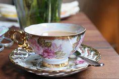 I love a good tea party.