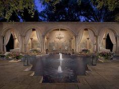 Romantic Pool in Phoenix, Ariz.: Cabana