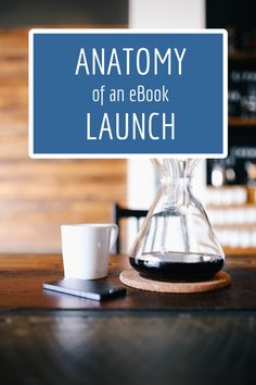 anatomy of an ebook launch-- thinking of writing an ebook? here's ideas on how to launch it! #blogging