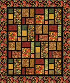 trapestry type Quilts   free quilt pattern from sue harvey and sandy boobar for fabri quilt ...