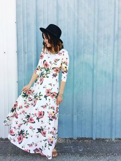 Ginger Dress in Paradise Floral   ROOLEE
