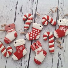 #christmas #handmade #cookies #gingerbread #socks #candy #maybe a cookie