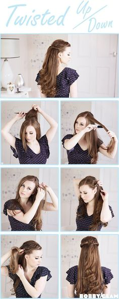 Hey girls! Here are 12 hair tutorials for you. They are all step-by-step tutorials, so it's easy for every girl to learn a new hairstyle and practice the hair tricks. All the tutorials can offer you ways to manage your long hair. You can learn useful ways to style a pretty good hairstyle from the …