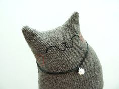 Plush Cat Cat Softie Toy cat Cat Doll Home by dancingintherains