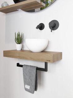 Modern Room Design, Small House Interior Design, Bathroom Interior Design, Toilet Room Decor, Small Toilet Room, Small Bathroom Shelves, Lavabo Design, Small Sink, Bathroom Plans