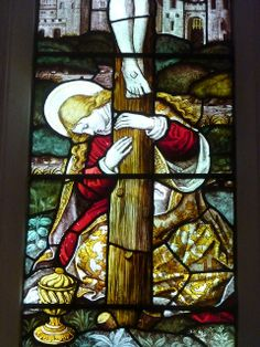 mary magdalen foot of cross | Mary Magdalene at the foot of the Cross. Kelvedon | Flickr - Photo ...