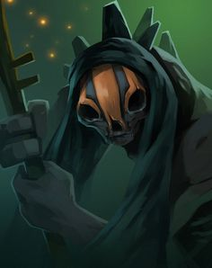 dota2 Ranged Creep by biggreenpepper on deviantART | Dota 2, Defense of the  ancients, Character design