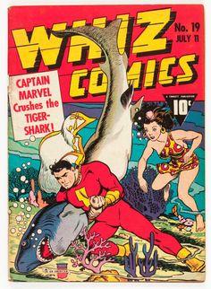 C.C. Beck | Whiz comics #19 | Fawcett | 1941