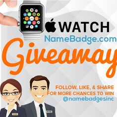 Enter this competition to win one of two Apple Watches!