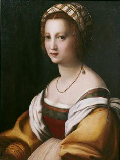 Andrea del Sarto. Portrait of a Woman, 1514.