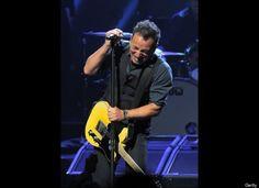 Bruce Springsteen - tomorrow night, live in LA.  BBBBRRRRUUUUUCCCCEEEE!  Gonna be epic